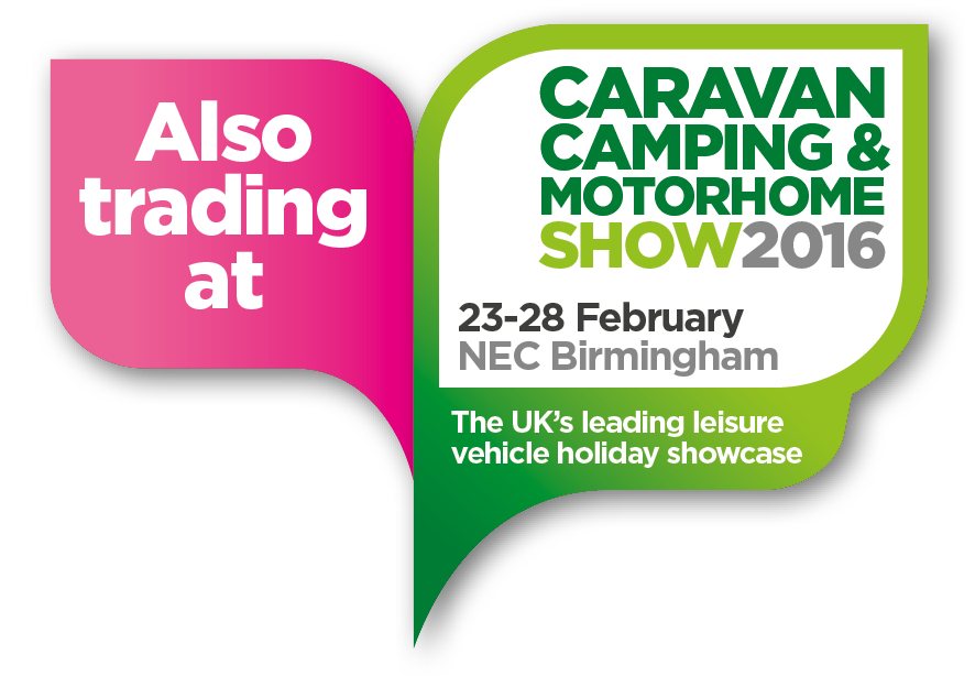Also trading at Caravan Camping & Motorhome Show 2016