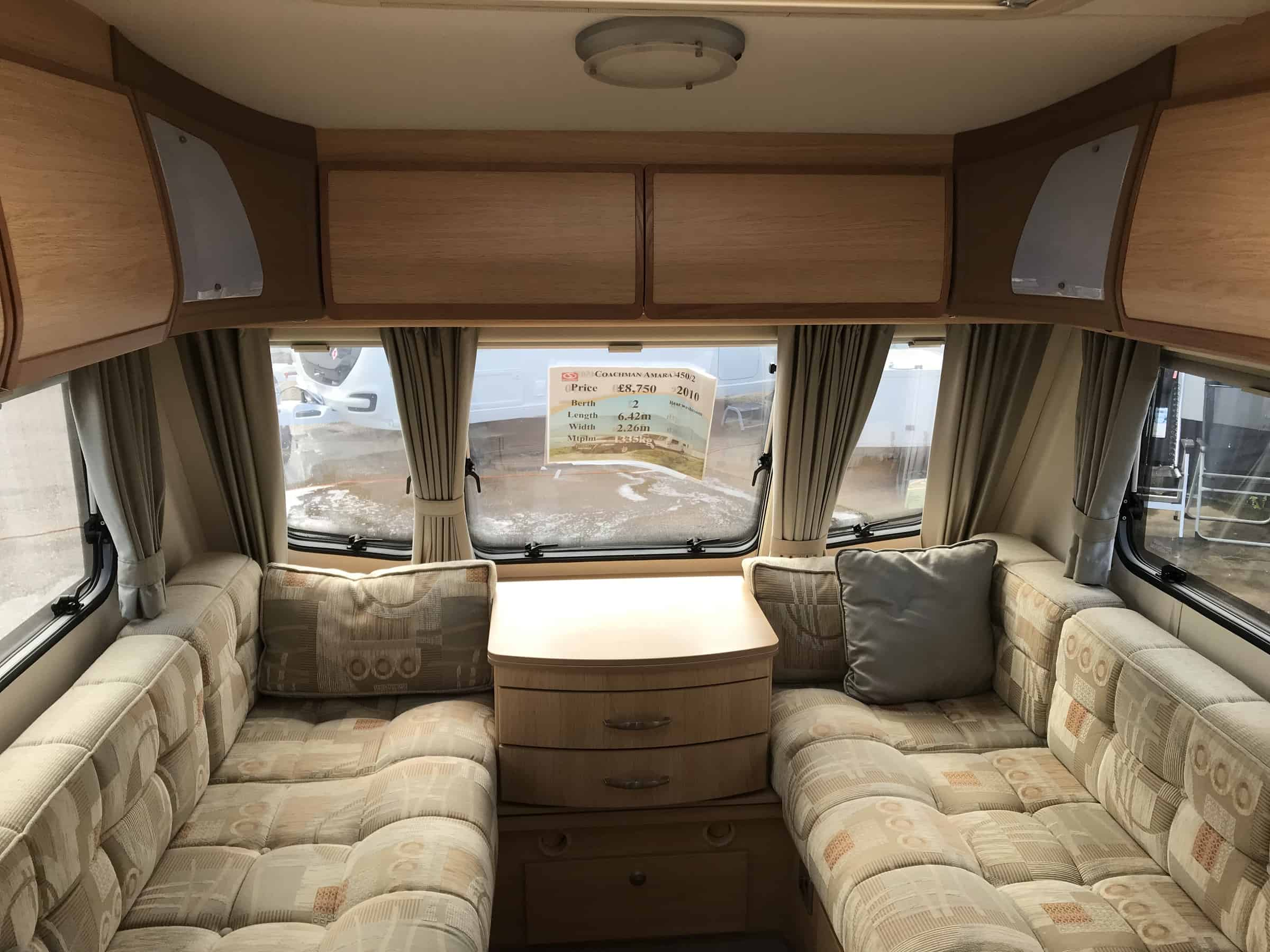 Coachman Amara 450-2 2010 North Western Caravans