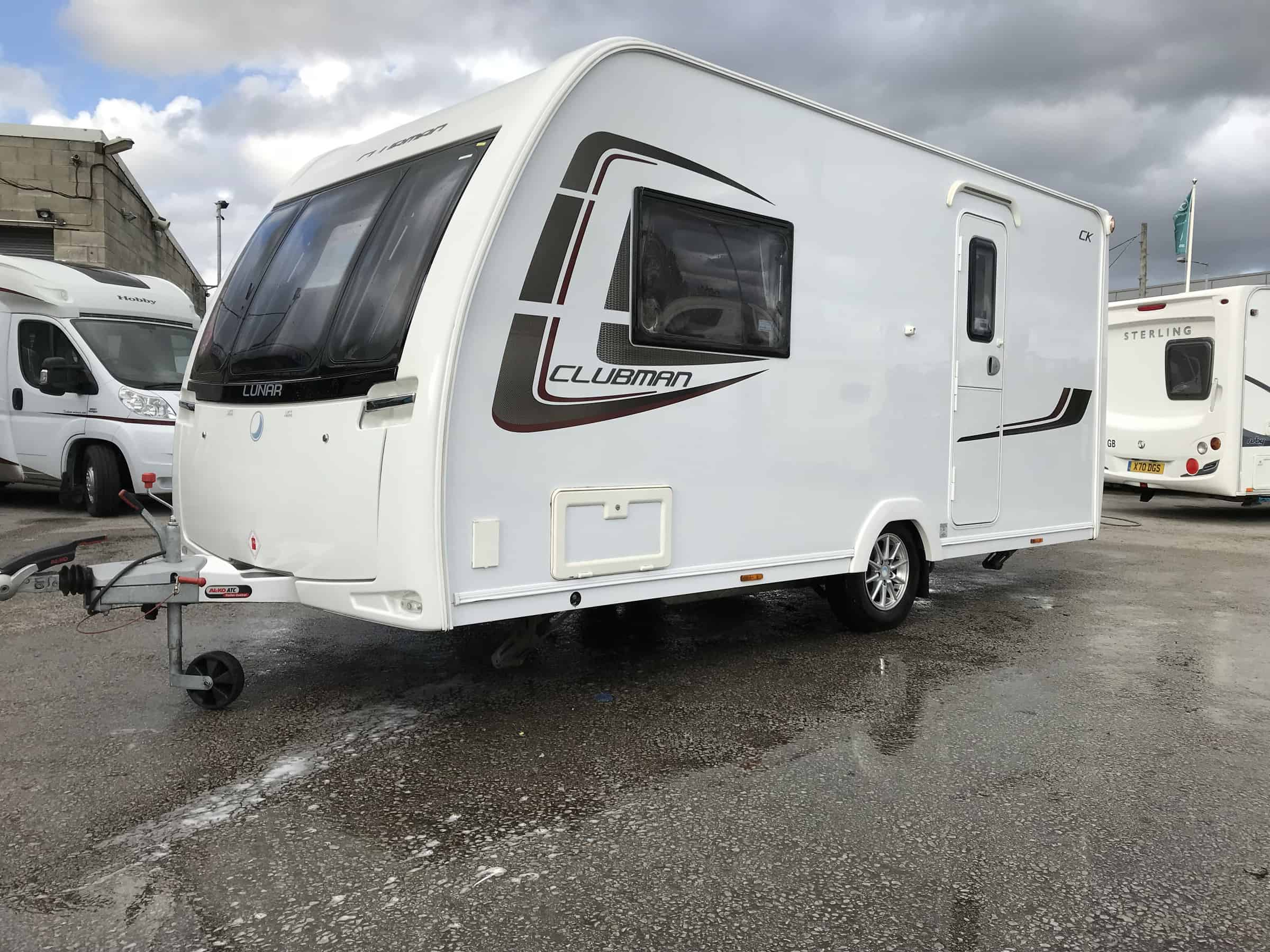 Lunar Clubman CK 2014 for sale at North Western Caravans