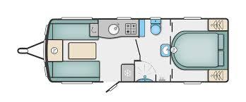 North Western caravans-elegance layout