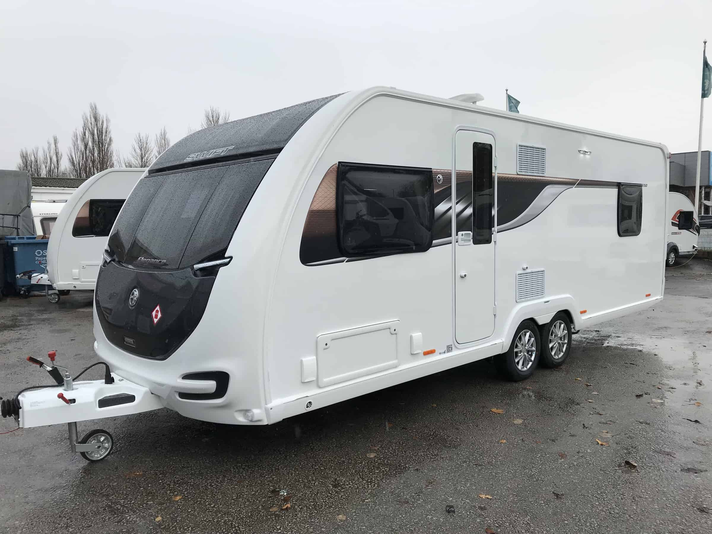Swift Elegance 650 2019 4 berth fixed double rear beds REDUCED DOWN TO £27995