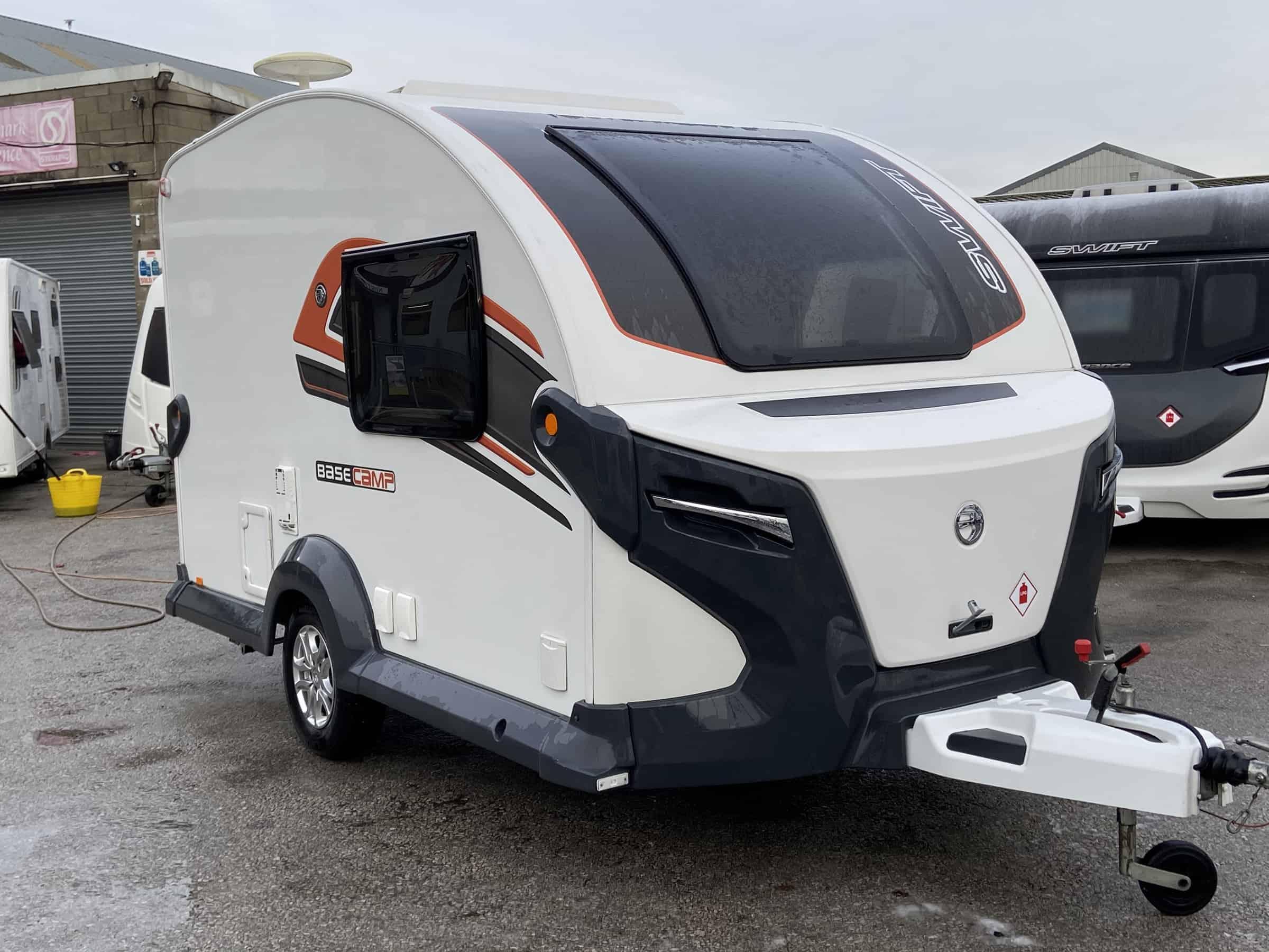 Swift Basecamp Plus | North Western Caravans