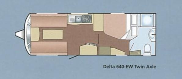 Lunar Delta 640-EW 2006 Layout